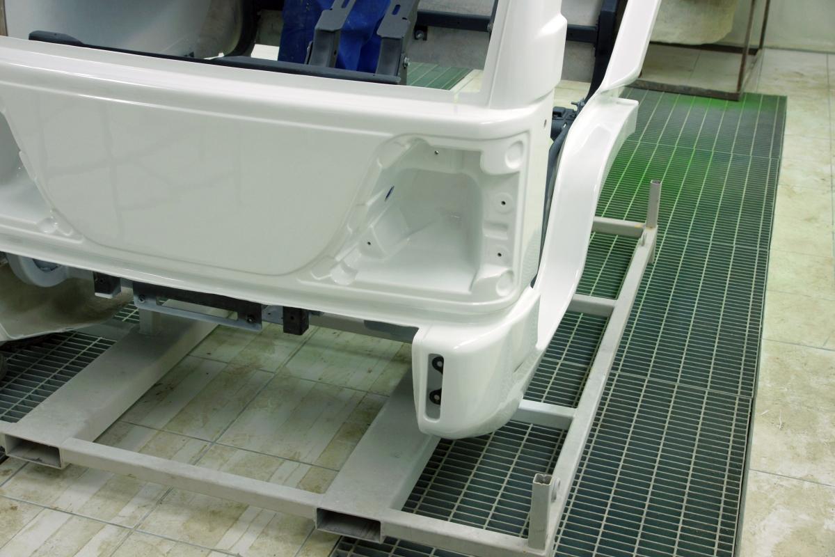 Fibrer glass car body