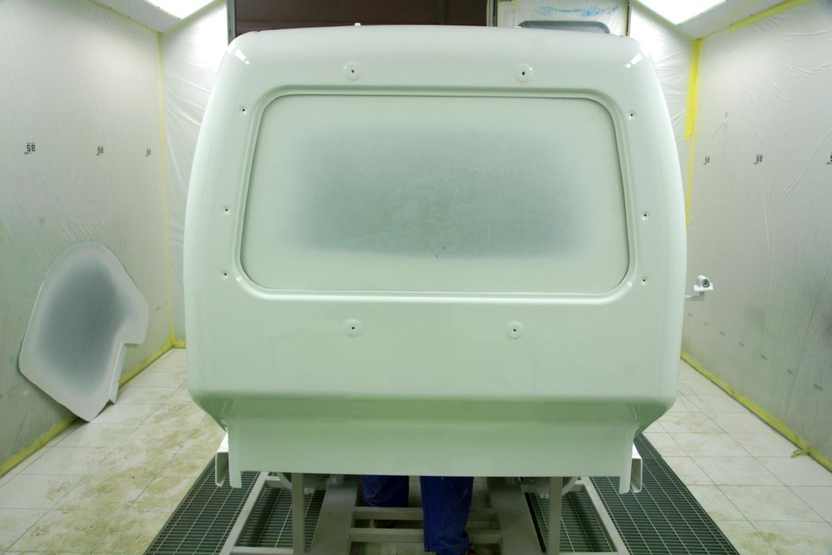 Fibrer glass car cabin